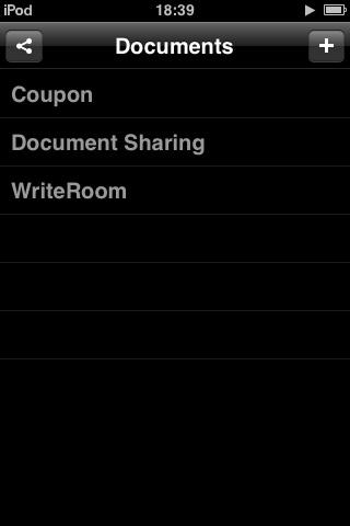 WriteRoom共有画面2