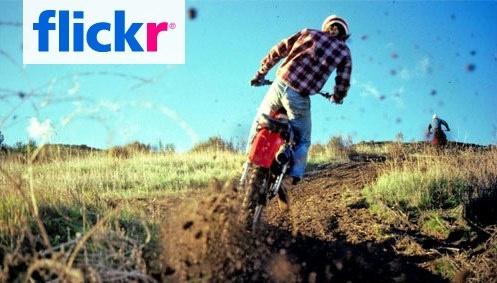 flickrトップ画面