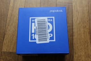 PAPALOOK PA452 Pro ウェブカメラ web カメラの箱の画像