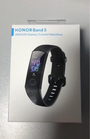 Huawei Honor Band 5 箱の写真