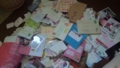 今までもらった手紙の一部。たくさん!!!