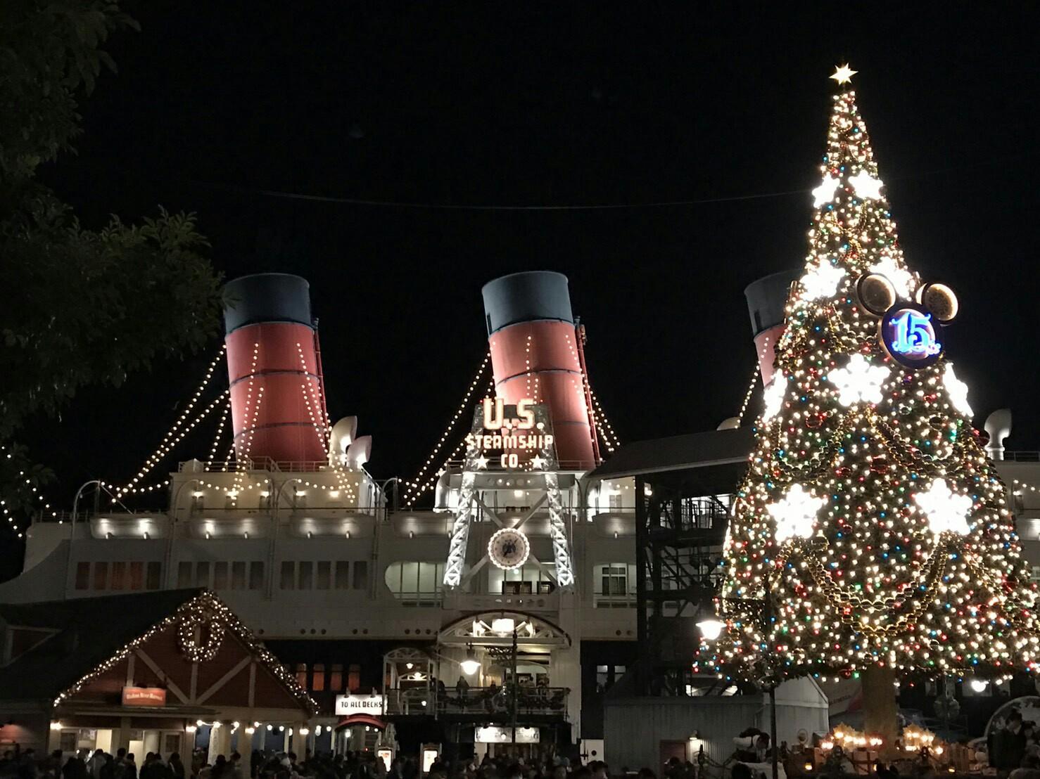ディズニークリスマス ☆夜☆ - しずかのブログ
