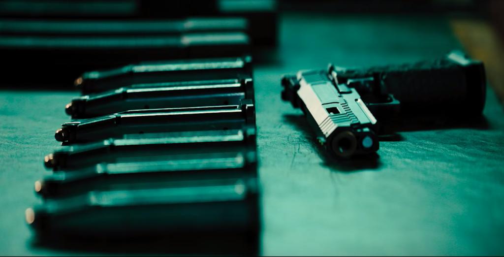 ジョンウィック3の銃