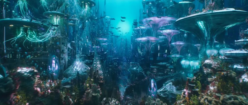 アクアマンの海底都市