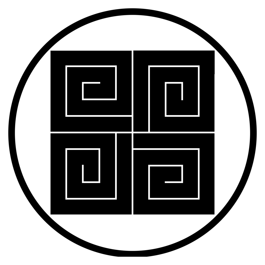 細輪に四つ稲妻