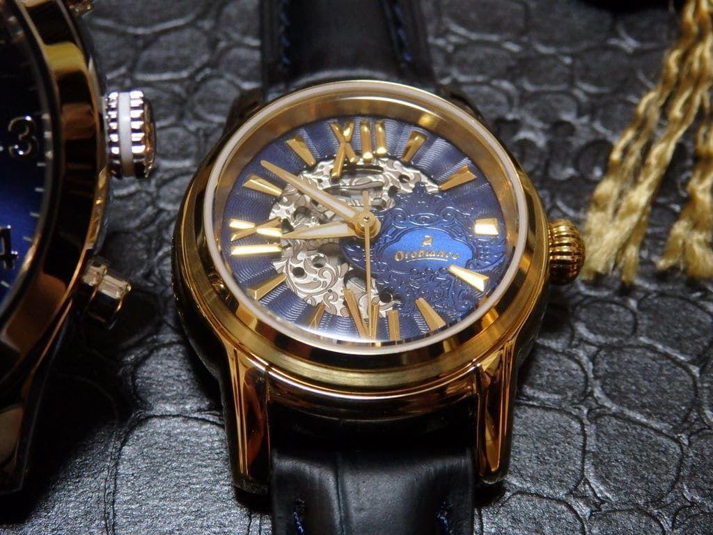 チックタック(TiCTAC)腕時計2本(総額7万円以上)入り21,600円のプレミアム福袋2019 レディース用 オロビアンコ Aurelia OR-0059-15