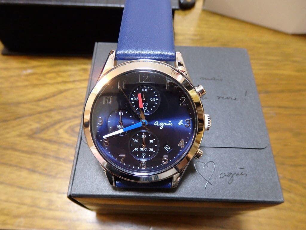 チックタック(TiCTAC)腕時計2本(総額7万円以上)入り21,600円のプレミアム福袋2019 メンズ用 アニエスベー FCRT978