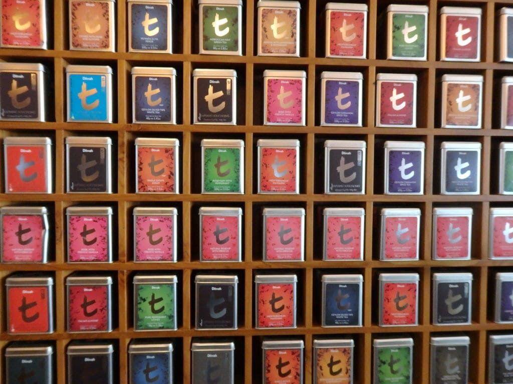 スリランカ旅行おすすめのお土産 紅茶 ディルマ t-シリーズ(Dilmah t-series)