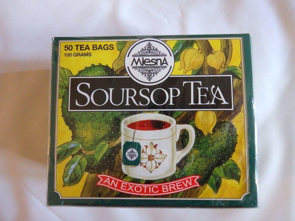 スリランカ旅行おすすめのお土産 紅茶 ムレスナ サワーソップティー(Mlesna SOURSOP TEA)