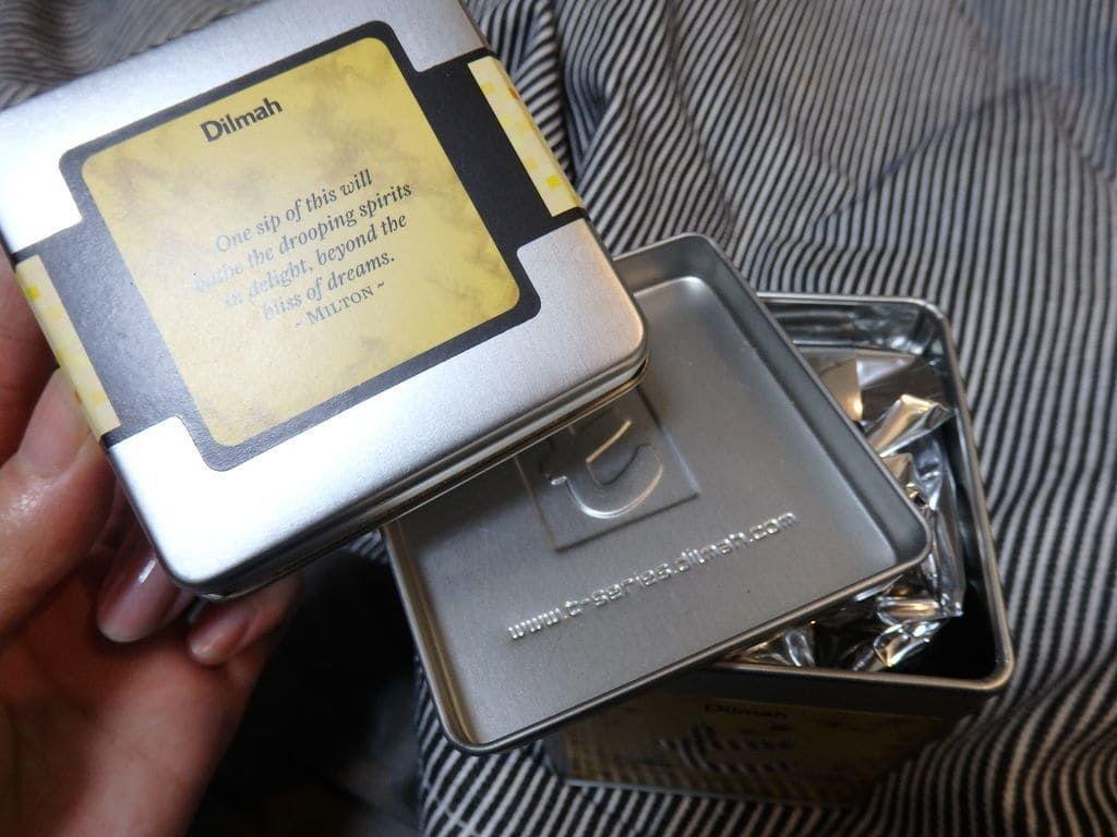 スリランカ旅行おすすめのお土産 紅茶 ディルマ t-シリーズ(Dilmah t-series) カモミールティー PURE CHAMOMILE FLOWERS(40g/LEAF BAGS)900ルピー