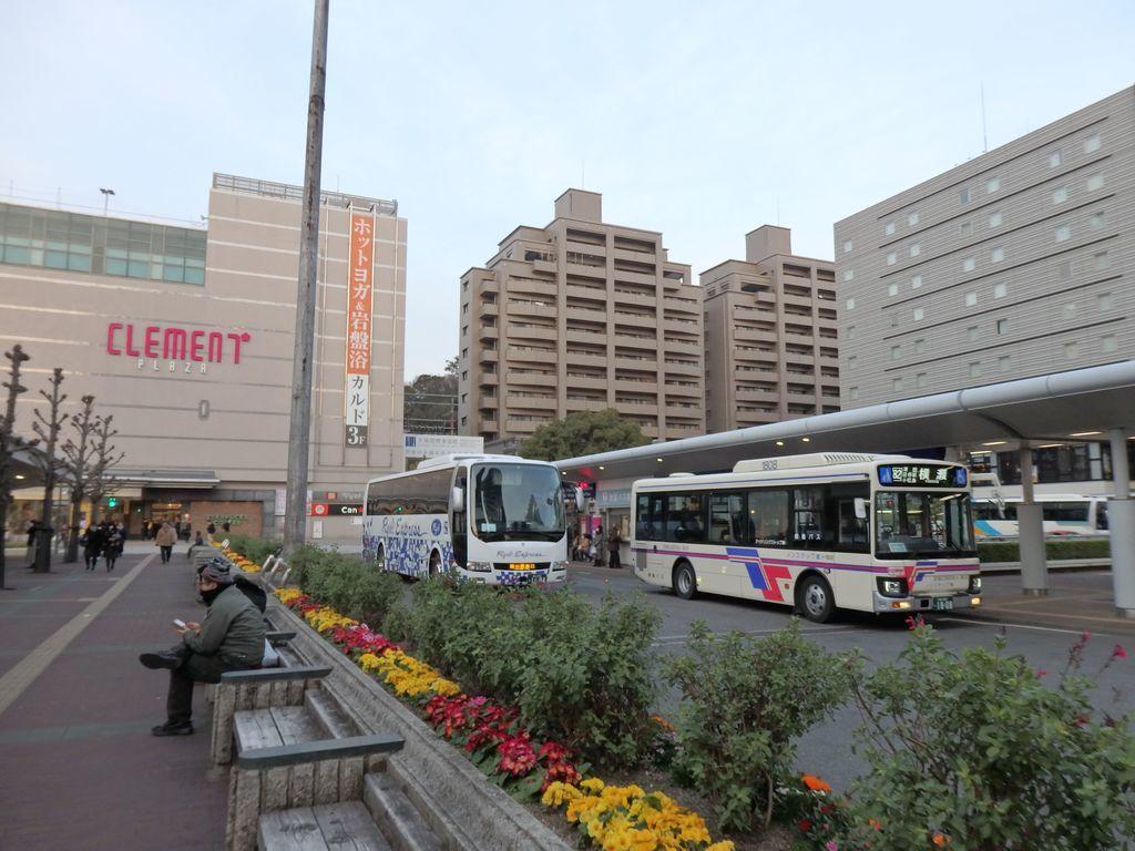JR徳島駅前 〈1番のりば〉鳴門公園線 大塚国際美術館行きバス