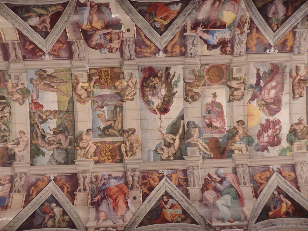 大塚国際美術館 「システィーナ礼拝堂天井画および壁画」ミケランジェロ