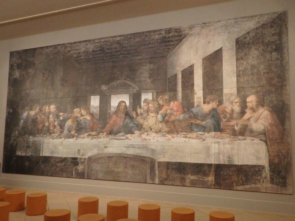 大塚国際美術館 「最後の晩餐」レオナルド・ダ・ヴィンチ 修復前