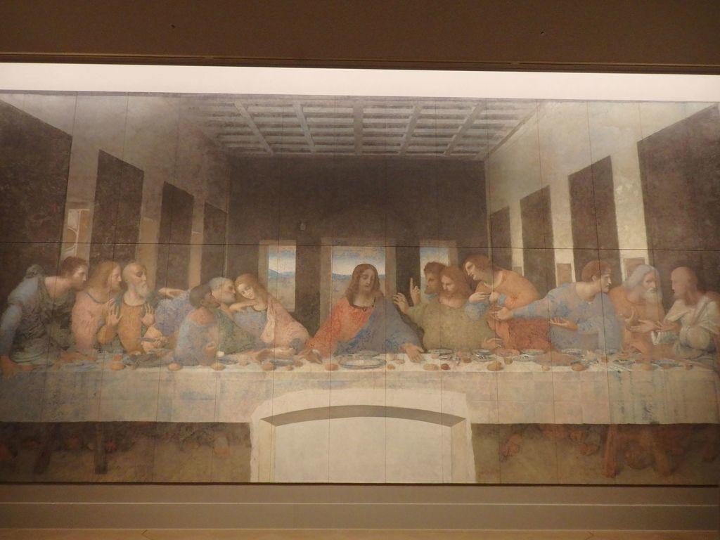 大塚国際美術館 「最後の晩餐」レオナルド・ダ・ヴィンチ 修復後