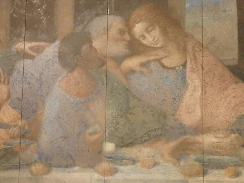 大塚国際美術館 「最後の晩餐」レオナルド・ダ・ヴィンチ 修復後 ユダの右手