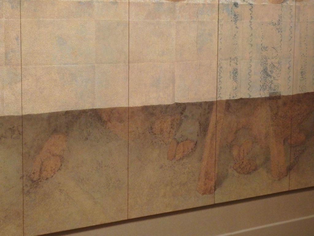 大塚国際美術館 「最後の晩餐」レオナルド・ダ・ヴィンチ 修復後 テーブルの下の足元