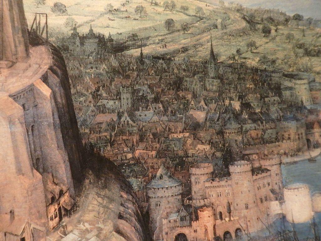 大塚国際美術館 「バベルの塔」ピーテル・ブリューゲル