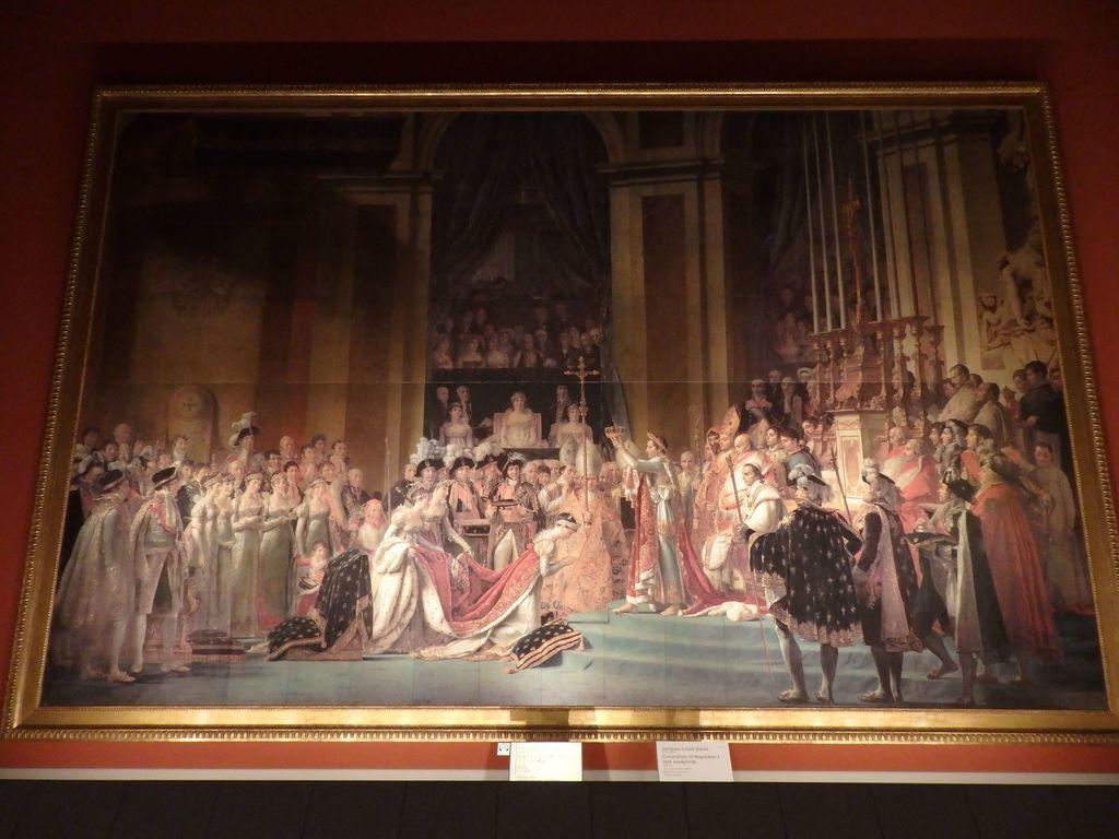大塚国際美術館 「皇帝ナポレオン1世と皇后ジョセフィーヌの戴冠」ジャック=ルイ・ダヴィット