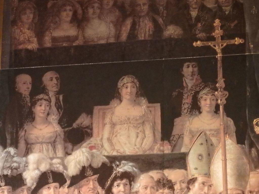 大塚国際美術館 「皇帝ナポレオン1世と皇后ジョセフィーヌの戴冠」ジャック=ルイ・ダヴィット 実はこの場にいなかったナポレオン1世の実の母