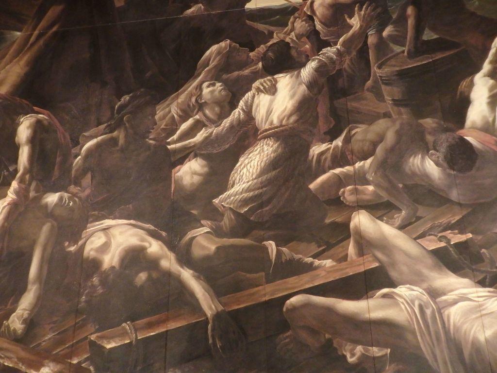 大塚国際美術館 「メデューズ号の筏」ジェリコー