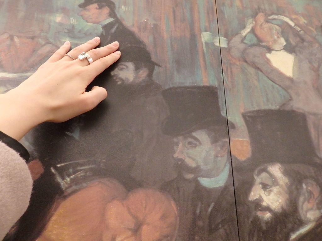 大塚国際美術館 「ムーラン・ルージュにて」アンリ・ド・トゥールーズ=ロートレック