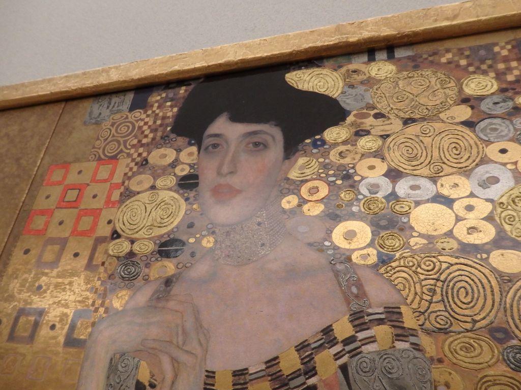 大塚国際美術館 「アデーレ・ブロッホ=バウワーの肖像Ⅰ」グスタフ・クリムト