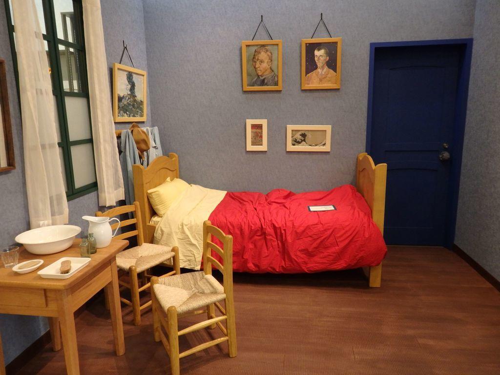大塚国際美術館 Cafe Vincent 「アルルのゴッホの部屋」を再現したスペース