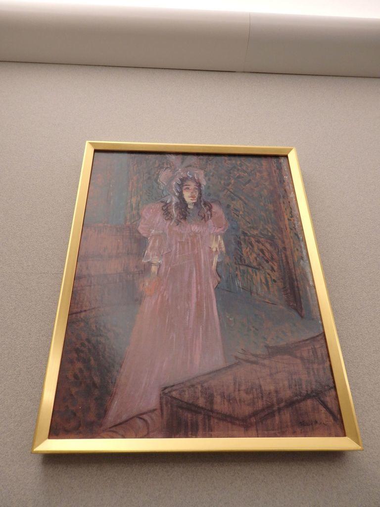 大塚国際美術館 「メイ・ベルフォール嬢」アンリ・ド・トゥールーズ=ロートレック