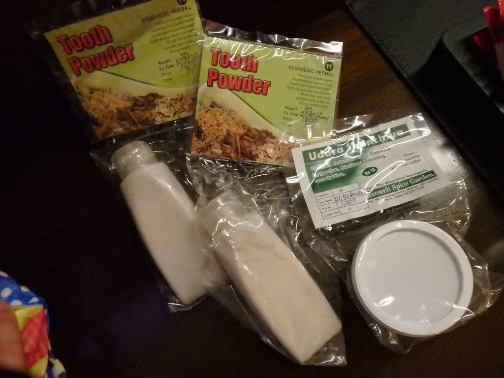 スリランカ スパイスガーデン 歯磨き粉(Tooth Powder)