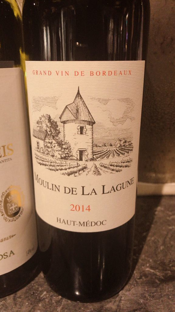 シャトー・ラ・ラギューヌのセカンドワイン、ムーラン・ド・ラ・ラギューヌMoulin de La Lagune(2014)