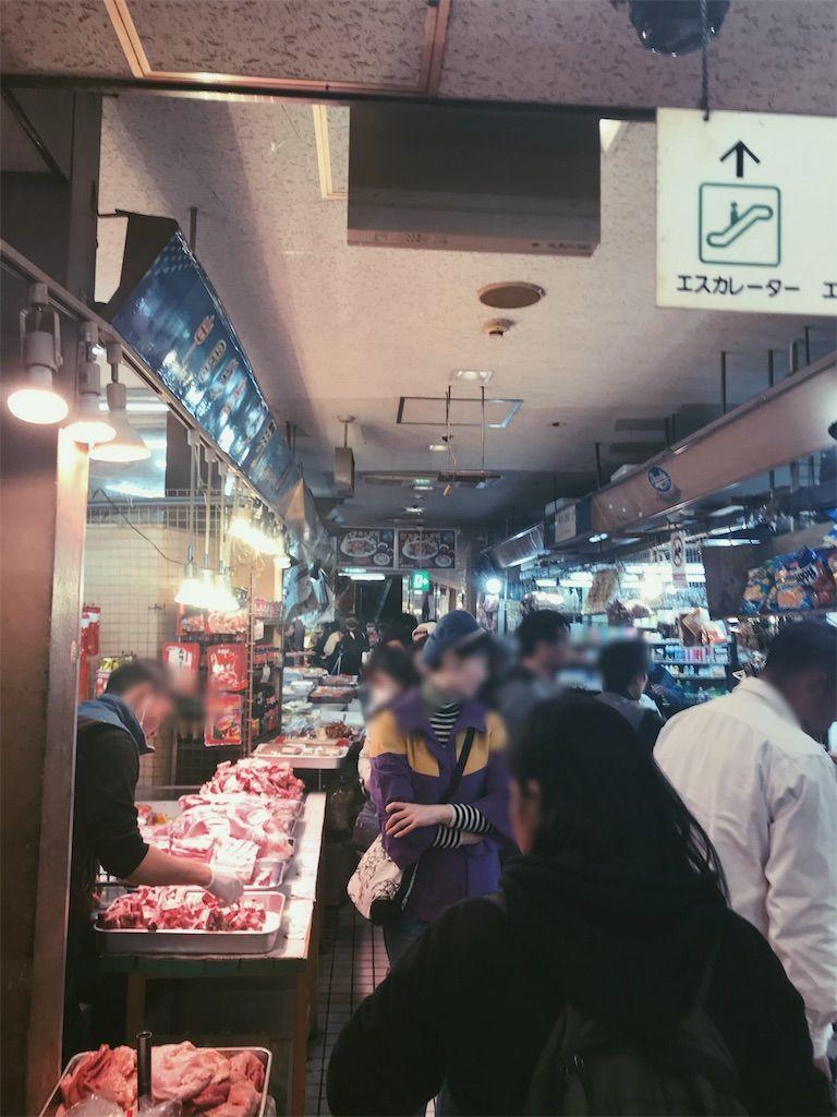 アメ横センタービル地下食品街