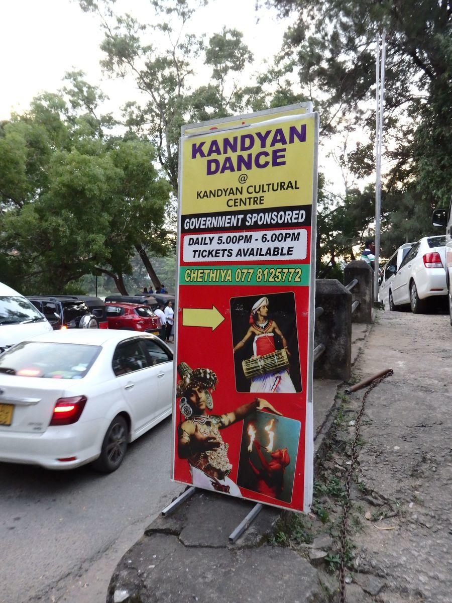 キャンディ芸術協会(The Kandyan Art Associations)キャンディアンダンスショー