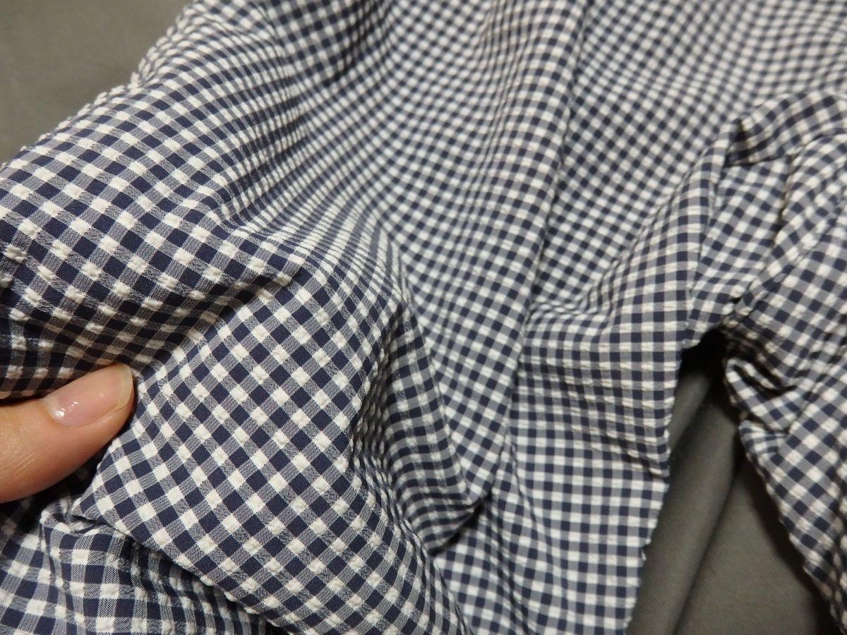 ダンスキン(DANSKIN) シアサッカークロップパンツ 凹凸のあるトレッチ布帛素材シアサッカー