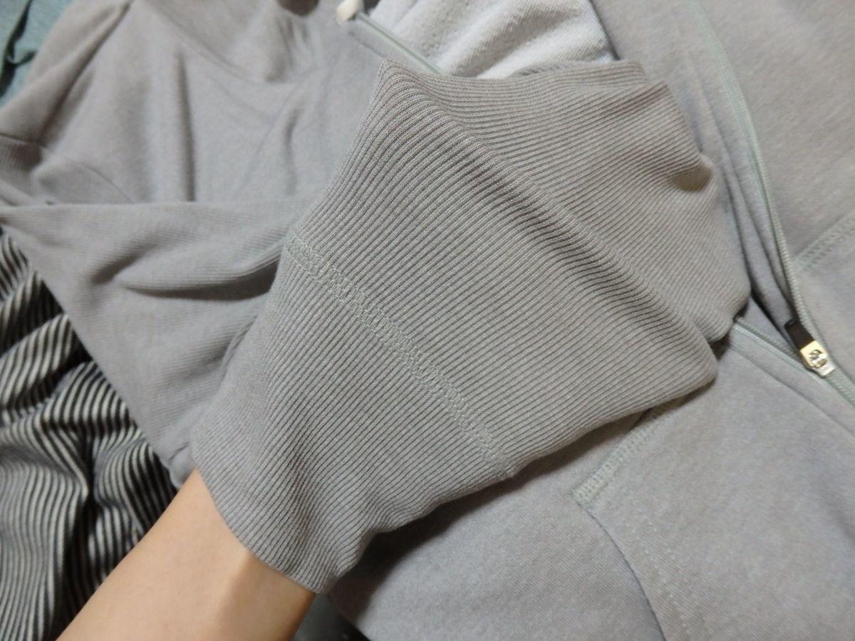 ダンスキン(DANSKIN) パーカー Feelフーディジャケット リブ素材 伸縮性あり