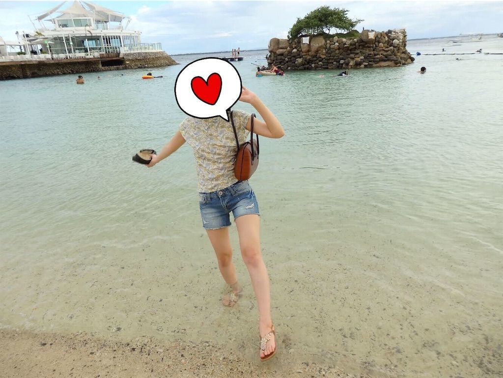 グレンダ(grendha)ビーチサンダル セブ島ビーチ
