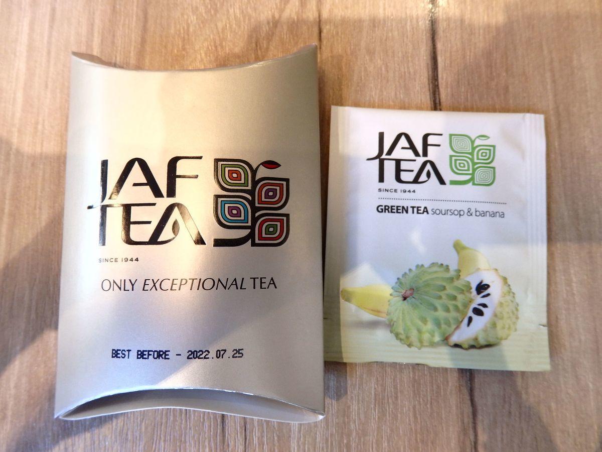 代々木公園で行われたスリランカフェスティバル2019 抽選会参加賞JAF TEAのティーバッグ サワーソップ&バナナ