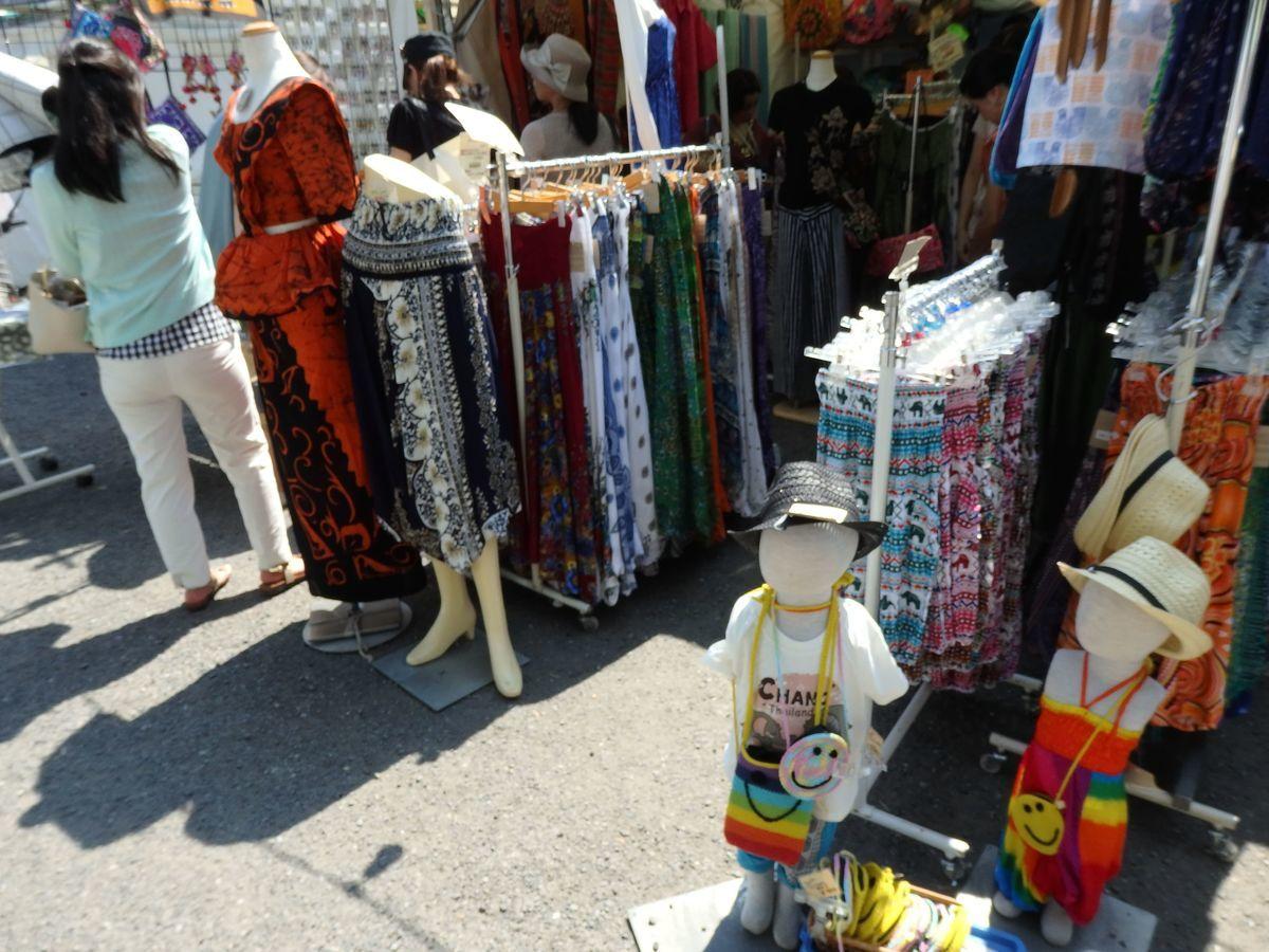 代々木公園で行われたスリランカフェスティバル2019 ショップブース出展 スリランカファッション