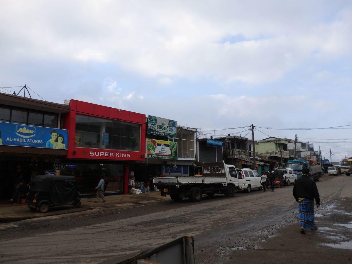 スリランカ ヌワラ・エリヤの街の様子