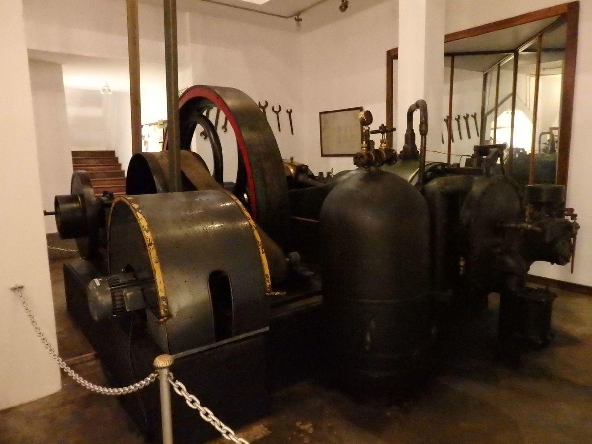紅茶工場をリノベーションしたホテル,ヘリタンス ティー ファクトリー(Heritance Tea Factory)紅茶工場時代に使用していた機械の展示