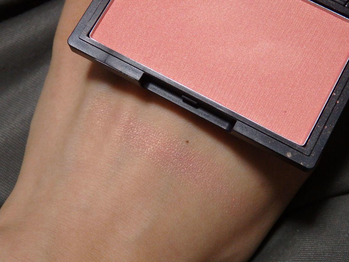 台湾プチプラ優秀コスメ heme チーク「純色腮紅 Pure Cheek Color」03 Rosy Pink 色味