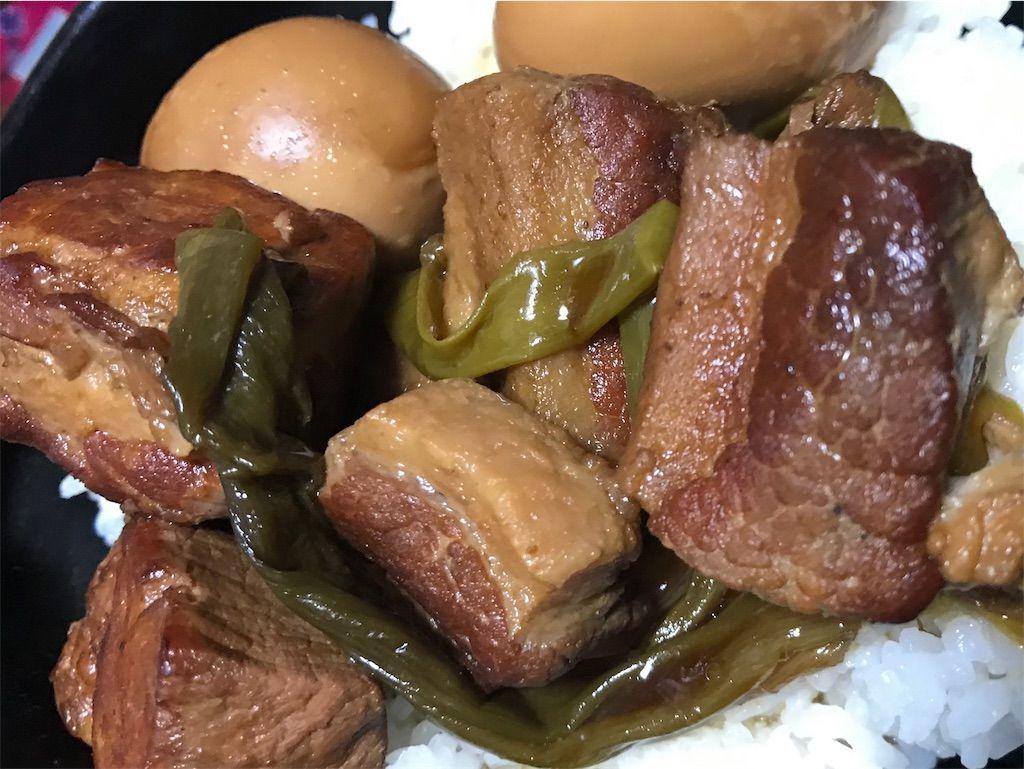 大同電鍋のレシピ 豚の角煮