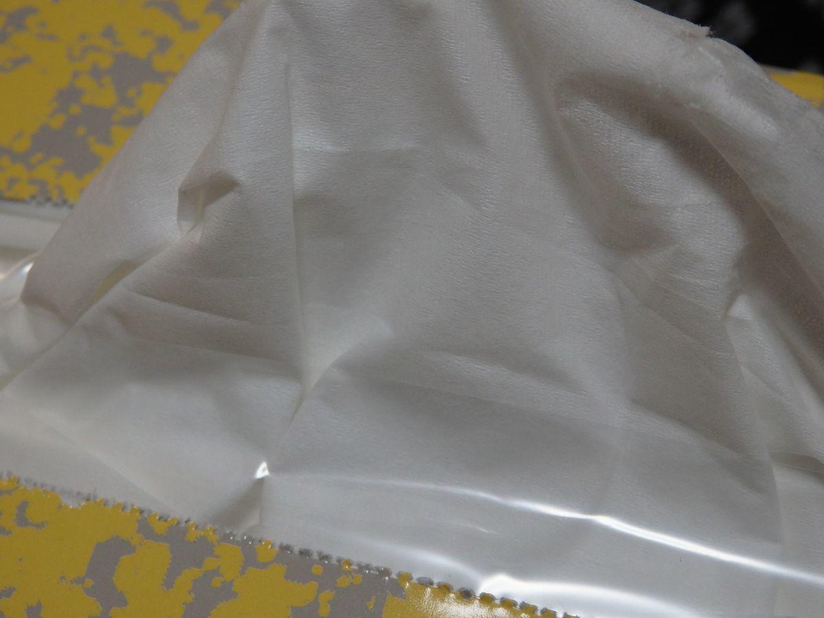 ナクレ フェイシャルティッシュペーパー紙質
