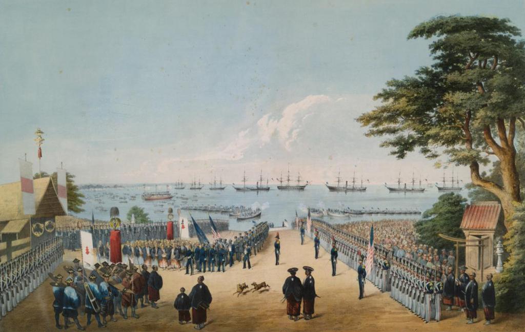 軍隊がなかったことによって不利な条約を結ばれた国