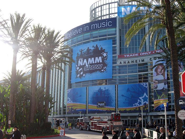 NAMM2019はアメリカカリフォルニア州アナハイムで開催されています。