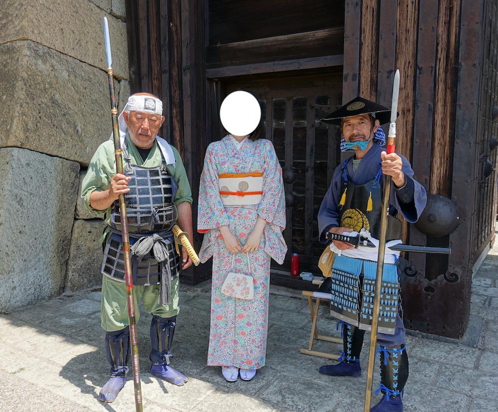 姫路で着物観光