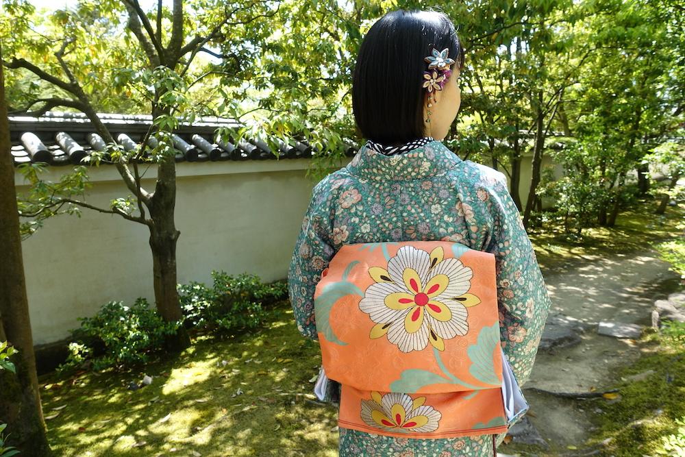 姫路で着物観光 好古園