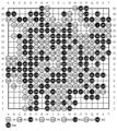 第4回大和証券杯ネット囲碁レディース1回戦:青木喜久代8段vs万波佳