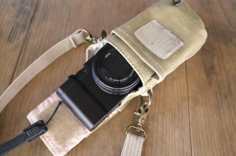 ナショナルジオグラフィック リトルカメラポーチ LUMIX TX1