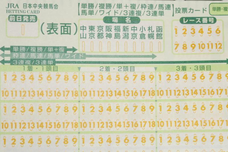 場名 レース番号