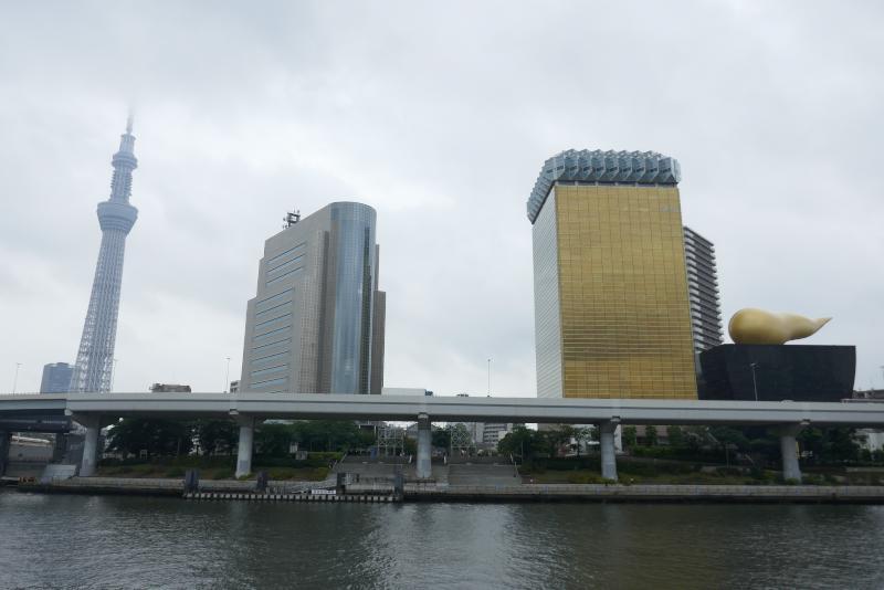 東京スカイツリーと金のウ◯コ